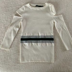Karen Millen rib slit sleeve spring sweater 1710